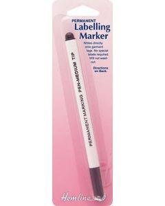 Hemline Permanent Labelling Pen - Felt Tip