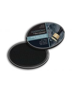 Harmony by Spectrum Noir Water Reactive Dye Inkpad - Noir Black