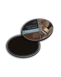 Harmony by Spectrum Noir Water Reactive Dye Inkpad - Seal Brown