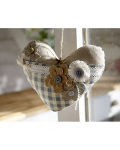 Debbie Shore Pattern and Instructions Download - Heart with Pocket