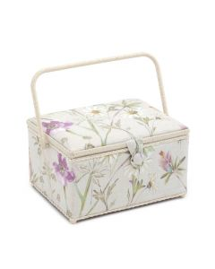 Groves Premium Collection Large Sewing Box - Wordsworth Hollyhock