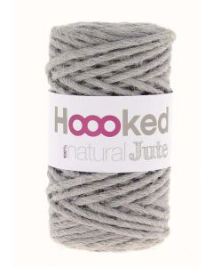 Hoooked Natural Jute Yarn - Grey Mist