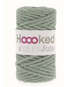 Hoooked Natural Jute Yarn - Serenity Mint