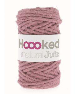 Hoooked Natural Jute Yarn - Tea Rose