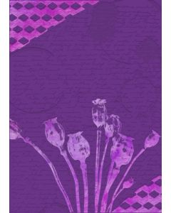 Gemini 3D Embossing Folder & Stencil - Poppy Seed Heads