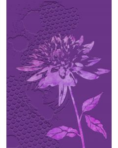 Gemini 3D Embossing Folder & Stencil - Chrysanthemum
