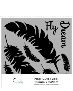 Imagination Crafts Magi-Cutz - Fly Dream (2PK)
