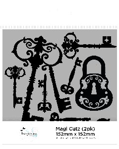 Imagination Crafts Magi-Cutz - Ornate Keys (2PK)