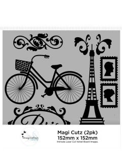 Imagination Crafts Magi Cutz (2 pack) - Vintage French