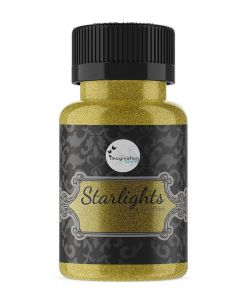 Imagination Crafts Starlight Glass Paints - Rich Gold