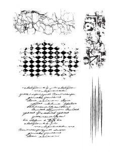 Imagination Crafts Art Stamps 135x91 - Distress set 1