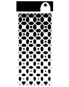 """IndigoBlu Stencil (6""""x 3"""") - Moroccan Tile"""