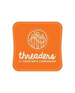 Threaders Fabric Ink Pad - Orange