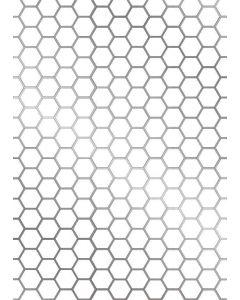 Gemini FOILPRESS Stamp Die Elements - Honeycomb Background
