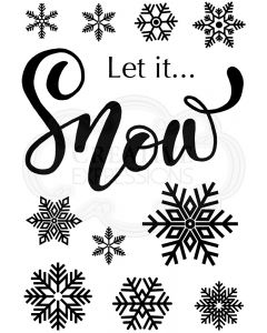 Woodware Clear Singles - Let It Snow