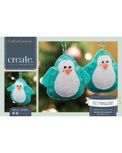 Crafter's Companion Felt Penguin Decorations Kit