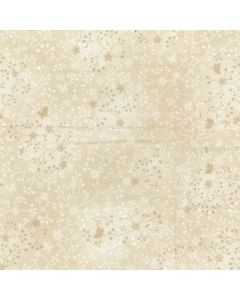 John Louden 100% Flutter Cotton Fabric - Ivory