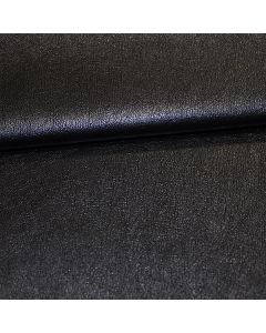 John Louden 140cms Faux Leather - Metallic Navy