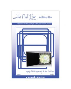 John Next Door Card Die Collection - Square Scene Box (4pcs)
