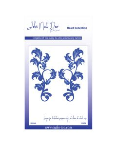 John Next Door Flower Collection - Honesty Flourish (2pcs)