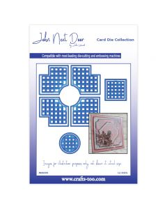 John Next Door Card Die Collection - Lattice Corners (12pcs)