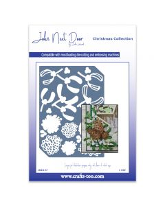 John Next Door Christmas Dies - Christmas Elements Plate