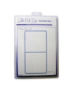 John Next Door Card Base Dies - Teardrop Square Card