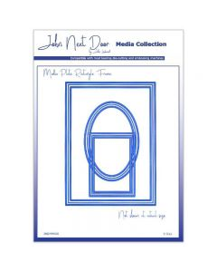 John Next Door Dies - Media Plate Rectangle Frame