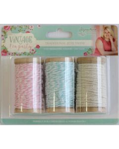 Sara Signature Vintage Tea Party Collection - Traditional Jute Twine