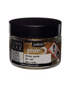 Pebeo Gilding Wax King Gold - 30ml pot
