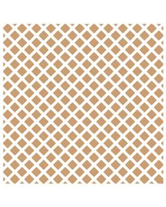 LDRS 6x6 Stencil - Waffle Cone
