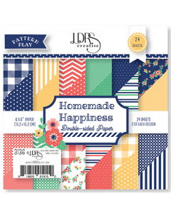 LDRS Pattern Play - Homemade Happiness 6x6 Paper Pack
