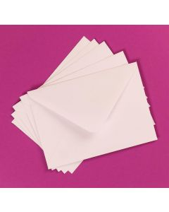 Craft UK 50 C6 Envelopes - White