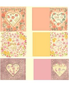 Crafter's Companion Dome Cards Kit - Love is in The Air