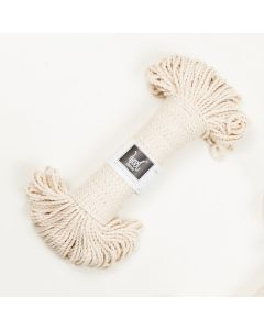 Wool Couture Macrame Rope 3mm - Cream