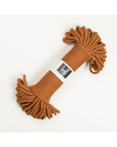 Wool Couture Macrame Rope 5mm - Amber