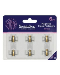 Threaders Magnetic Clasps - Brass (6PK)