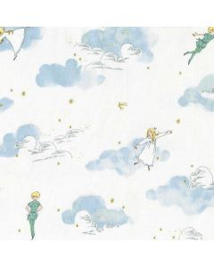 Michael Miller Fabrics Peter Pan Peter and Wendy - Cloud