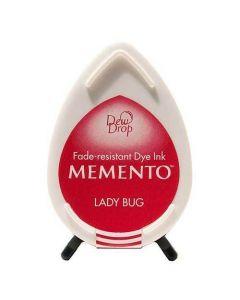 Tsukineko Memento Dew Drop Ink Pad - Lady Bug