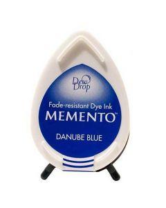 Tsukineko Memento Dew Drop Ink Pad - Danube Blue