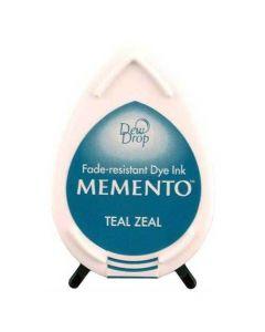 Tsukineko Memento Dew Drop Ink Pad - Teal Zeal
