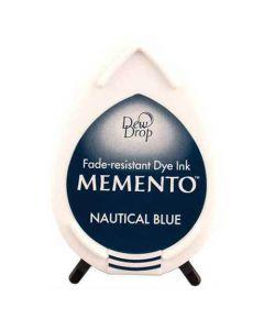 Tsukineko Memento Dew Drop Ink Pad - Nautical Blue