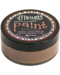 Dylusions Blendable Acrylic Paint 2oz - Melted Chocolate