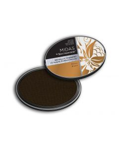 Midas by Spectrum Noir Metallic Pigment Inkpad - Bronze