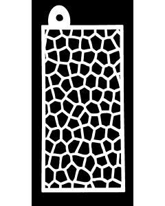 IndigoBlu 6x3 Stencil - Mosaic