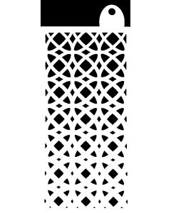 IndigoBlu 6x3 Stencil - Moroccan Circles
