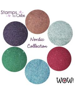 Stamps by Chloe Set of 6 WOW Embossing Glitters - Nordic Collection