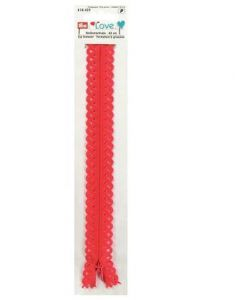 Prym 40cm Love Zip - Red