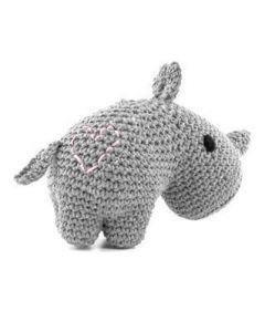 Hoooked Rhino Kit Ecobarb - Gris