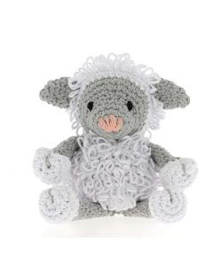 Hoooked DIY Eco Barbante Crochet Kit - Lewy Lamb